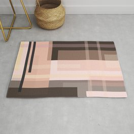 Abstract pattern 906 Rug