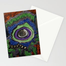 Paradise within blazing Flames Stationery Cards