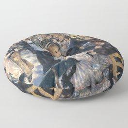 BAL DU MOULIN DE LA GALETTE - RENOIR Floor Pillow