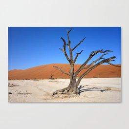 Skeleton tree Canvas Print