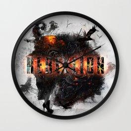 Rebelion Wall Clock