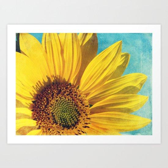 pure sunshine Art Print