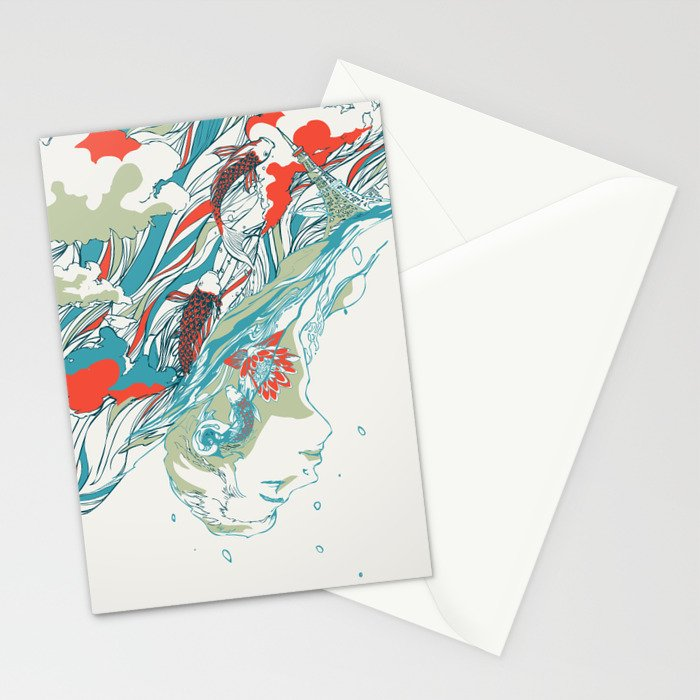 Colours In The Sky Stationery Cards