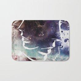 Complicated Feelings Abstract ART Bath Mat