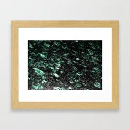 The Jade Sleeping Beneath the Black Granite Framed Art Print
