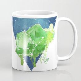 August Virgo Constellation Crystal Coffee Mug