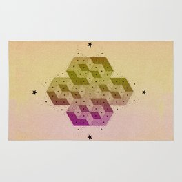 Cubic Totems Rug