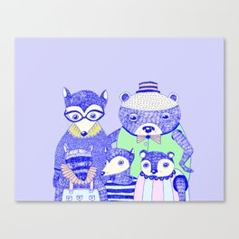 THE FAMILY PICTURE Canvas Print