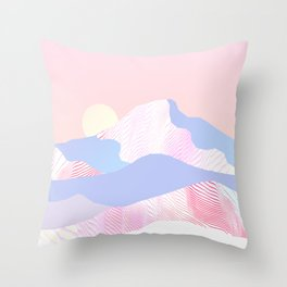Dune Sun Throw Pillow