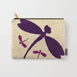 Dragonflies Love Letter Carry-All Pouch