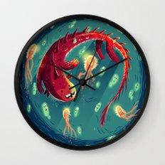 :::Sea Dragon::: Wall Clock