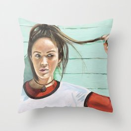 Beneath the Brine Throw Pillow