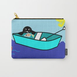 The Seal and The Boat Carry-All Pouch
