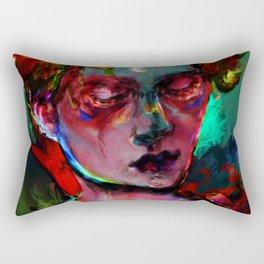 can you feel? Rectangular Pillow