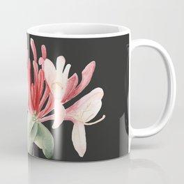 Honeysuckle on Charcoal Coffee Mug