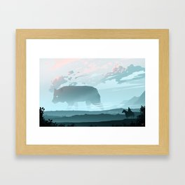 Following The Spirit Framed Art Print