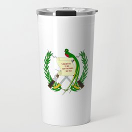 Flag of Guatemala- Guatemalan, Mixco,Villa Nueva,Petapa,tropical,central america,spanish,latine Travel Mug