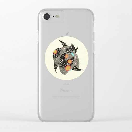 - summer spaceships of love - Clear iPhone Case