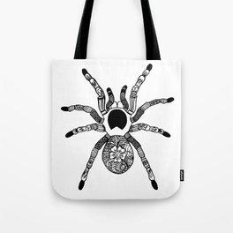 Henna Spider Tote Bag