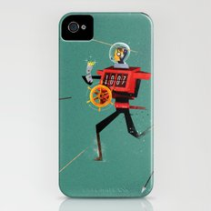 The Time Travelling Pirate iPhone (4, 4s) Slim Case