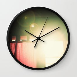 Morning Cigarette Wall Clock