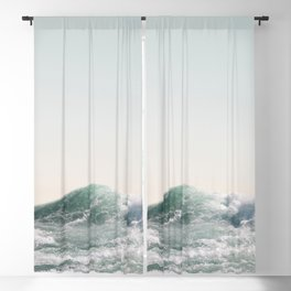 Waves and Sunrise   Happy Summer Photography   Ocean   Beach Vibes   Tropical Water   Sea  Blackout Curtain