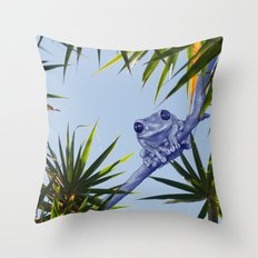 A summer kinda feeling Throw Pillow