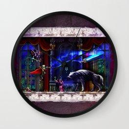Castlevania Verboten Wall Clock