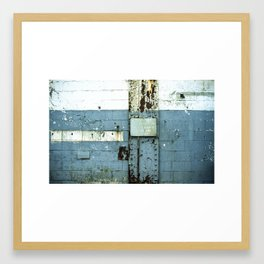 Keep It Clean and Sanitary Framed Art Print