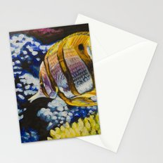 Copperband Butterflyfish Stationery Cards