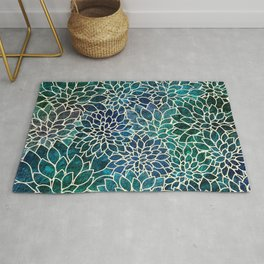 Floral Abstract 4 Rug