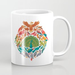 Aerial Rainbow : white Coffee Mug