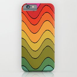 Groovy Waves #2 iPhone Case