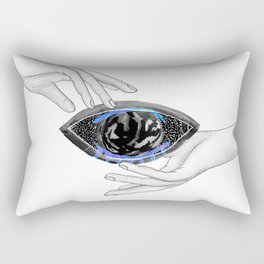 The World In Your Hands Rectangular Pillow