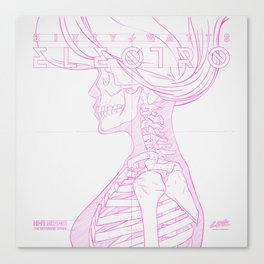 Sketch-Electro-A Canvas Print