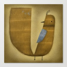 BLUE WING Canvas Print