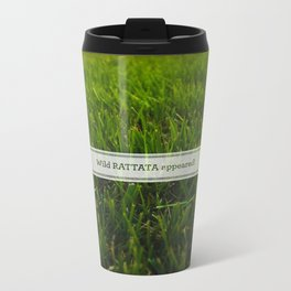 Avoiding tall grass Metal Travel Mug
