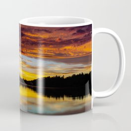 Fiery Sunset Coffee Mug