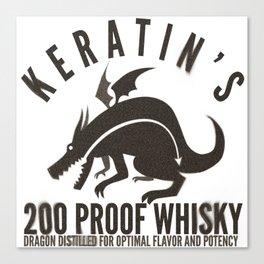 Keratin's Dragon Distilled Whisky Canvas Print