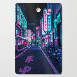 A Neon Wonderland called Tokyo Cutting Board