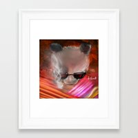 infamous Framed Art Prints featuring infamous by kobymartin