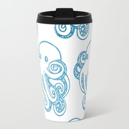 ombre octopuses Travel Mug