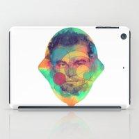 leonardo dicaprio iPad Cases featuring Leonardo Dicaprio by Rene Alberto