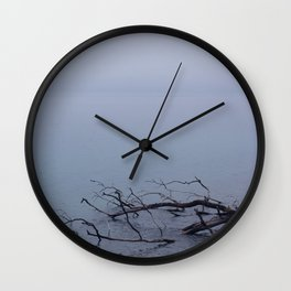 Turning grey Wall Clock