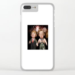 Donald & Vladimir. We Did It! One Year Anniversary. 11.8.2017 Clear iPhone Case
