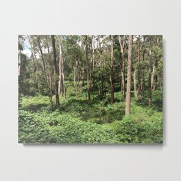 Get lost to find yourself Metal Print