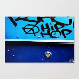 Hip Hop, Peace, Life Canvas Print