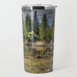 Reflecting Pond at Carson Spur, Amador County CA Travel Mug