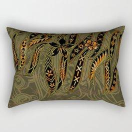 Samoan Malu Mana Motif - Polynesian designs Rectangular Pillow