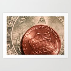 Money! Art Print